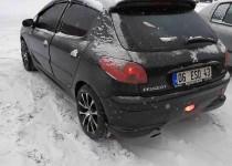 Panoramik cam tavan Peugeot 206